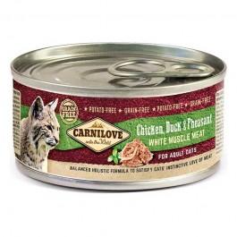 Carnilove Adult Pollo, Anatra e Fagiano per Gatti