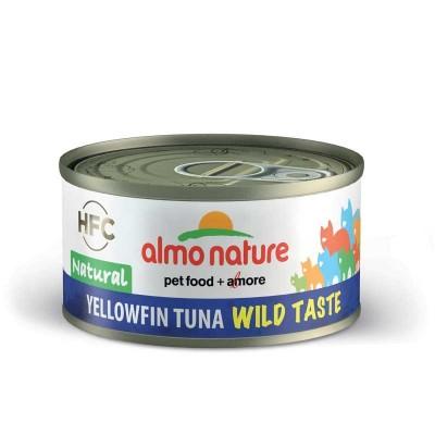 Almo Nature HFC Natural Yellowfin Tuna per Gatti 70gr