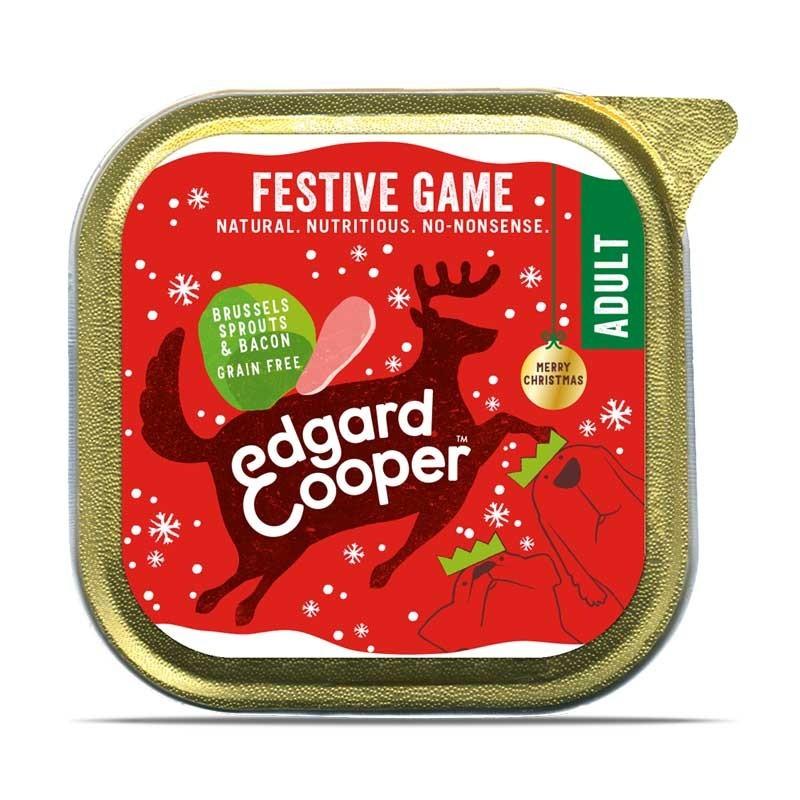 Edgard & Cooper Festive Game Selvaggina, Cavoletti di Bruxelles e Bacon