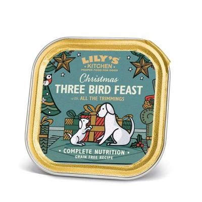 Lily's Kitchen Three Bird Feast per Cani