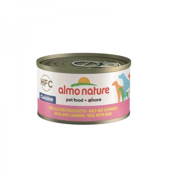 Almo Nature HFC con Vitello e Prosciutto per Cani 95gr