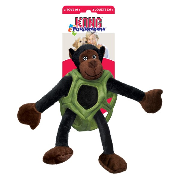 KONG Peluche 3 in 1 Scimmia Puzzlements