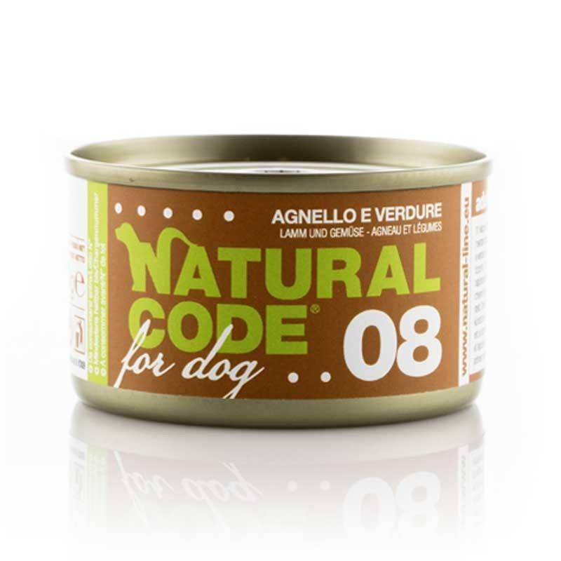 Natural Code Agnello e Verdure per Cani