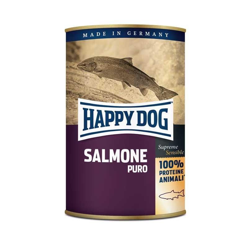 Happy Dog Monoproteico Salmone Puro per Cani