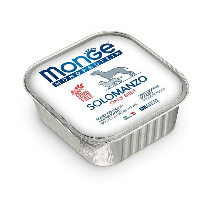 Monge Monoprotein Solo Manzo per Cani 150gr