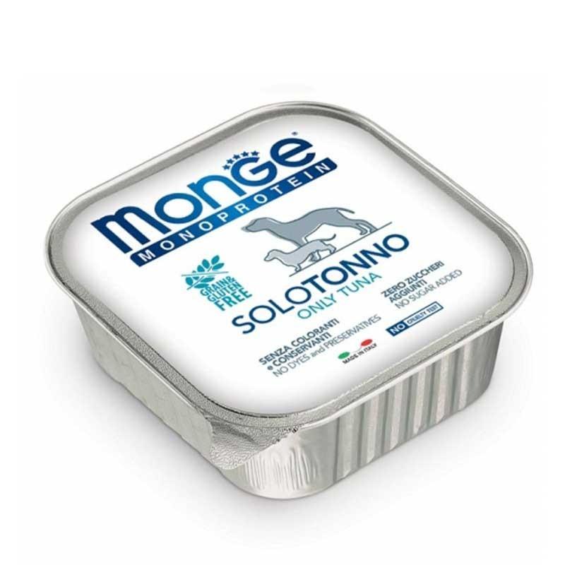 Monge Monoprotein Solo Tonno per Cani 150gr