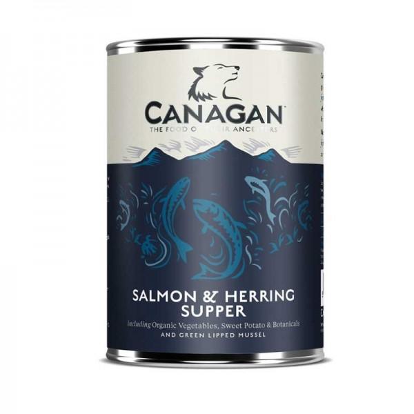 Canagan Salmon & Herring Supper per Cani