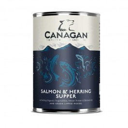 Canagan Salmon & Herring Supper per Cani