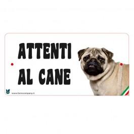 Farm Company Targa Attenti al Cane con Carlino