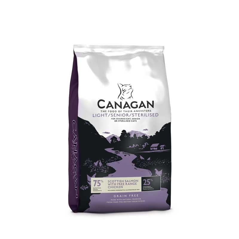 Canagan Light Senior per Gatto