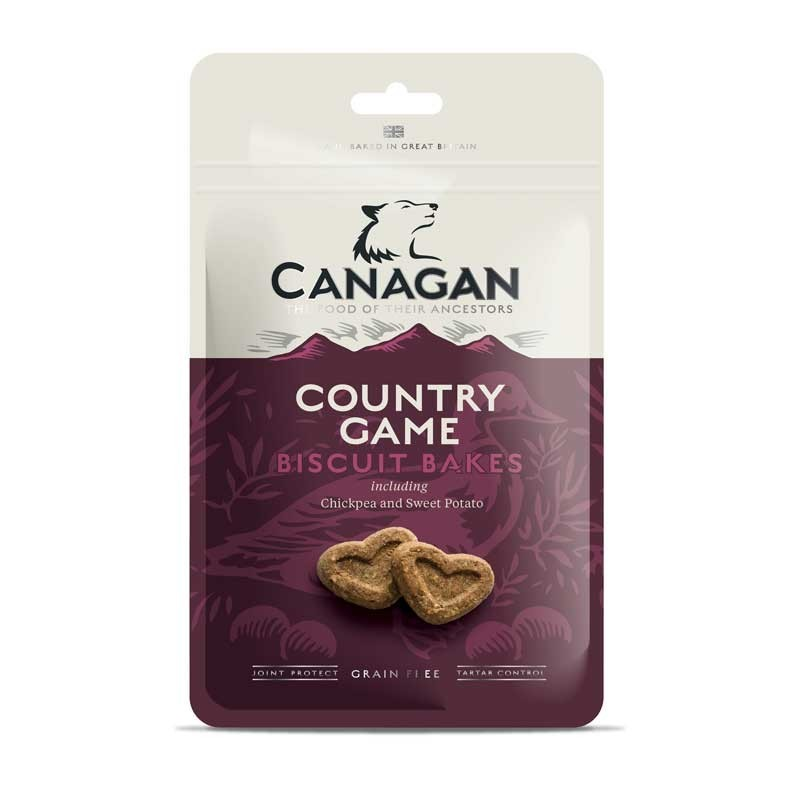 Canagan Biscuit Bakes con Selvaggina