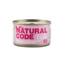 Natural Code Light Tonno, Orata e Bacche Goji per Gatti