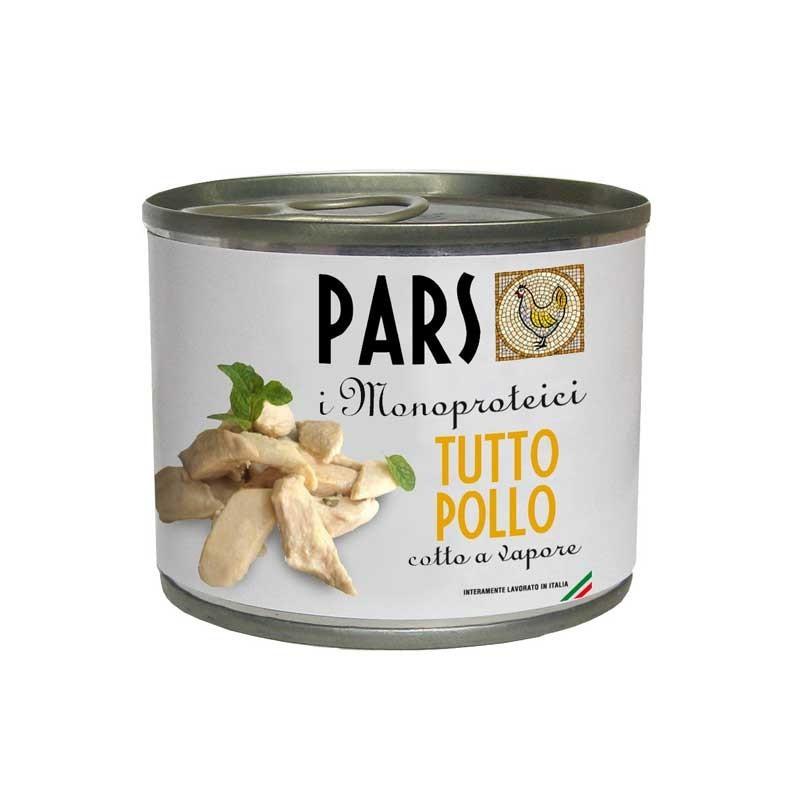 Pars Monoproteico Tutto Pollo per Cani e Gatti 200gr