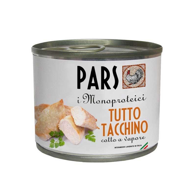Pars Monoproteico Tutto Tacchino per Cani e Gatti 200gr