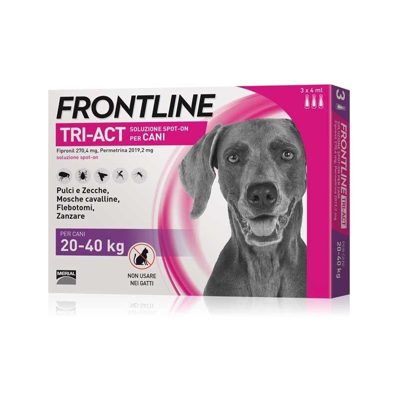 Frontline Tri-Act per Cani 20-40 Kg