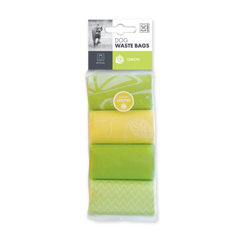 M-Pets Sacchetti Igienici al Limone