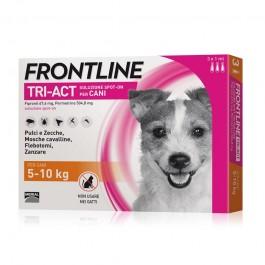 Frontline Tri-Act per Cani 5-10 Kg