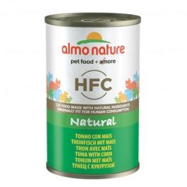 Almo Nature HFC Natural Tonno con Mais per Gatti 140gr