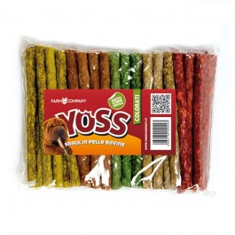 Yoss Stick Colorati in Pelle Bovina