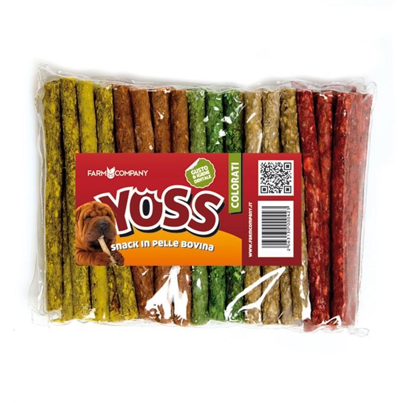 Yoss Stick Colorati in Pelle Bovina