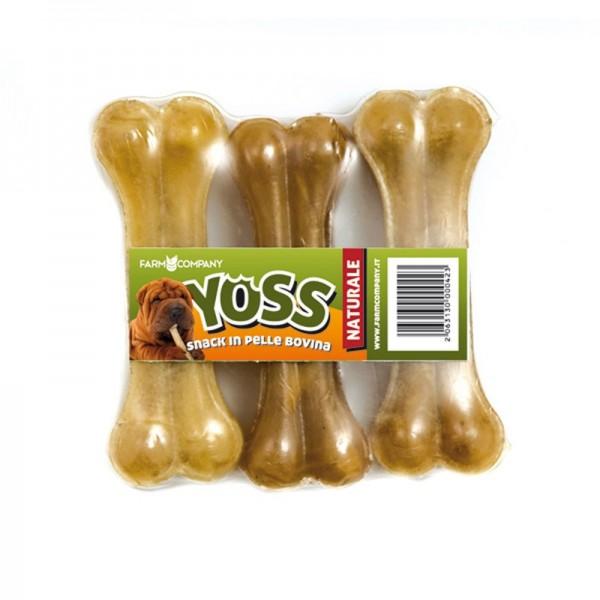 Yoss Osso Pressato in Pelle Bovina 3 pz