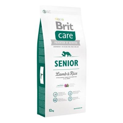 Brit Care Senior Agnello e Riso