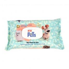 Pets Salviette Igienizzanti al Talco