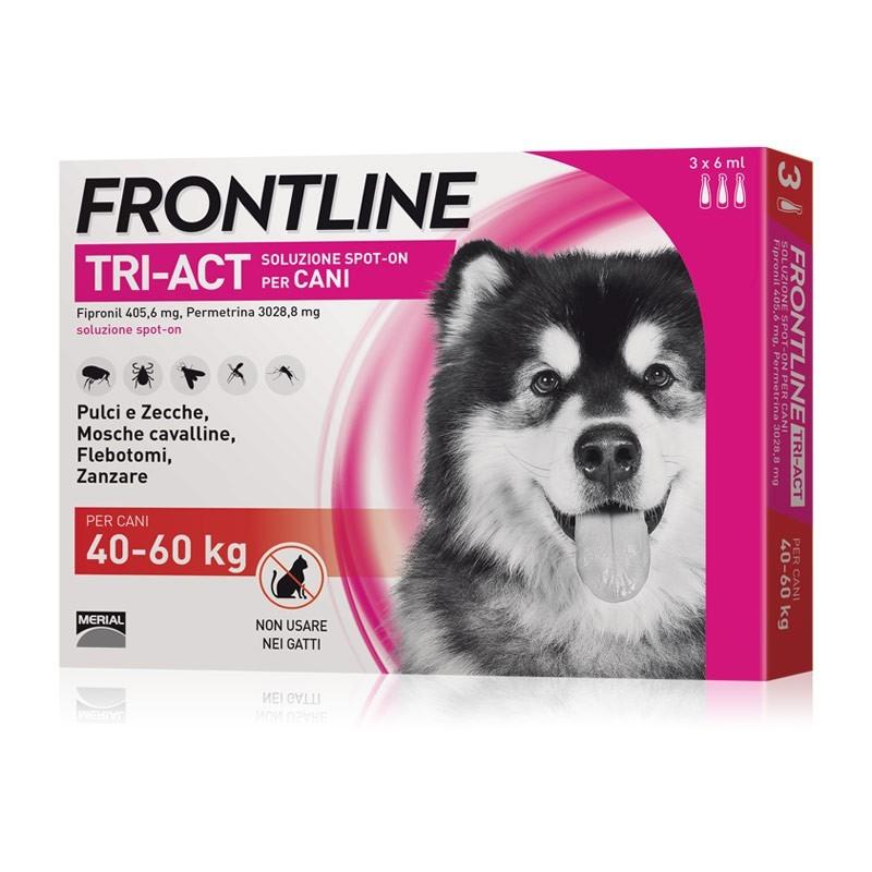 Frontline Tri-Act per Cani 40-60 Kg