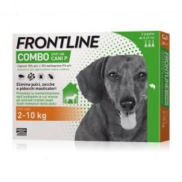 Frontline Combo da 2 a 10kg per Cani