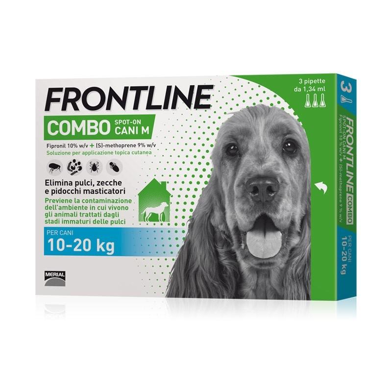 Frontline Combo da 10 a 20kg per Cani