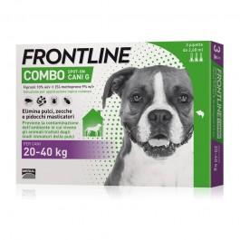 Frontline Combo da 20 a 40kg per Cani