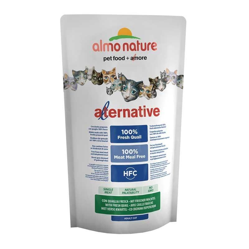 Almo Nature Alternative Quaglia e Riso per Gatti