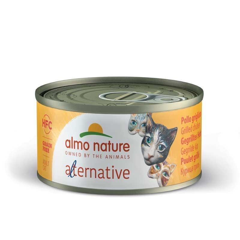 Almo Nature Alternative Pollo Grigliato per Gatti 70gr