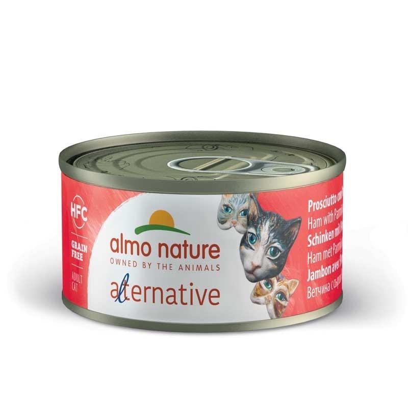Almo Nature Alternative Prosciutto e Parmigiano per Gatti 70gr
