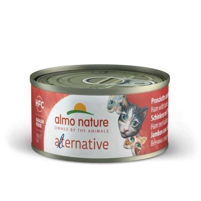 Almo Nature Alternative Prosciutto e Tacchino per Gatti 70gr