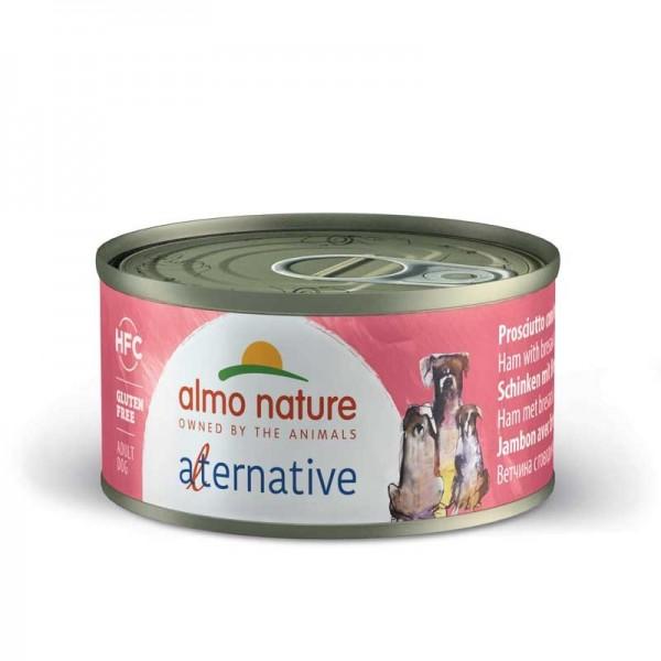 Almo Nature Alternative Prosciutto con Bresaola per Cani 70gr