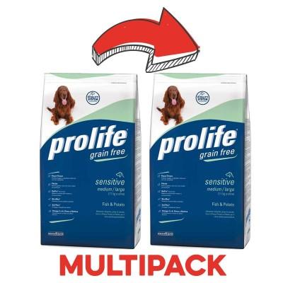Prolife Grain Free Medium Large Pesce & Patate