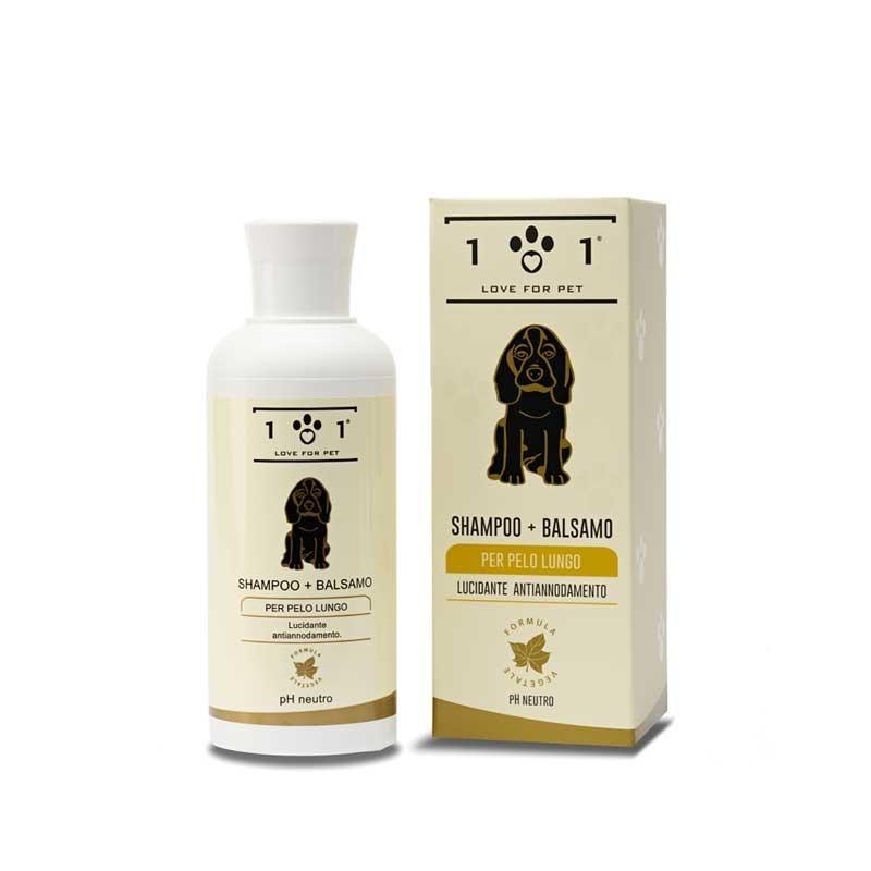 Linea 101 Shampoo + Balsamo per Cani a Pelo Lungo