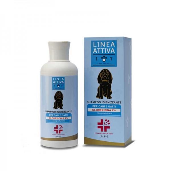 Linea 101 Shampoo Igienizzante per Cani e Gatti