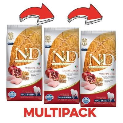 Farmina N&D Low Grain Adult Maxi Pollo