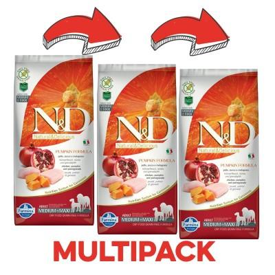 N&D Pollo e Zucca Adult Medium Maxi