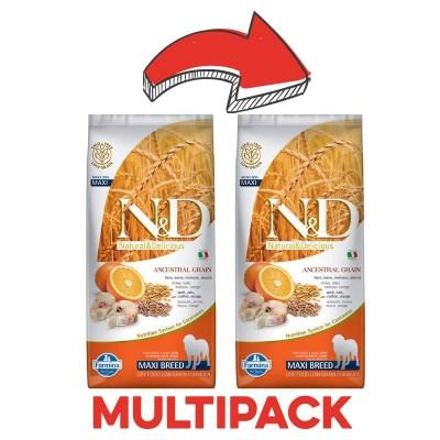 Farmina N&D Low Grain Adult Maxi Merluzzo