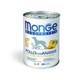 Monge Monoprotein Pollo con Ananas per Cani 400gr