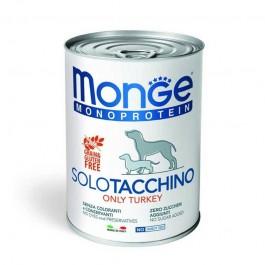 Monge Monoprotein Solo Tacchino Umido per Cani 400gr