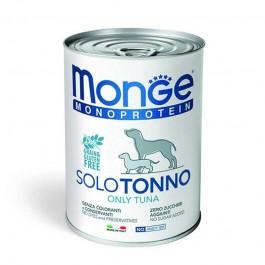 Monge Monoprotein Solo Tonno Umido per Cani 400gr