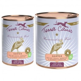 Terra Canis Tacchino Senior con Papaya, Borragine ed Erbe Officinali