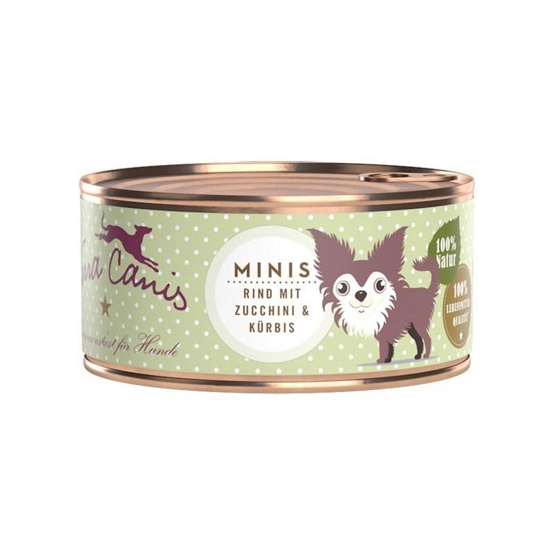 Terra Canis Mini Menu Manzo con Zucchine e Zucca 100gr