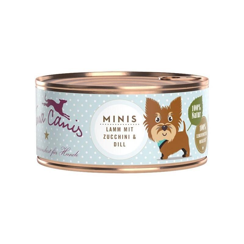 Terra Canis Mini Menu Agnello con Zucchine e Aneto 100gr