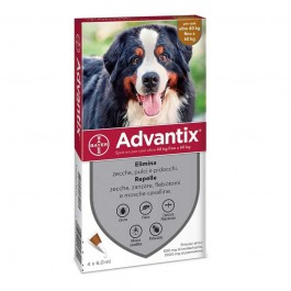Bayer Advantix Spot-On 40-60Kg per Cani