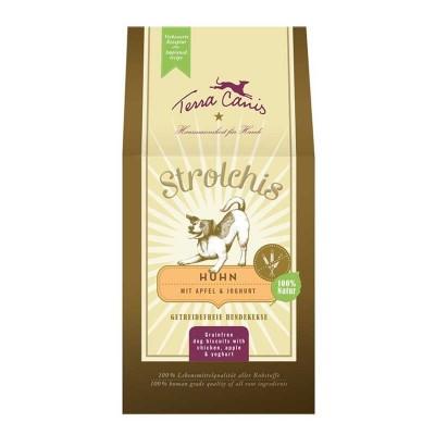 Terra Canis Biscotti Senza Cereali Strolchis al Pollo per Cani